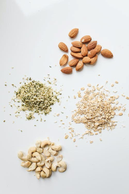 Oats with real nuts