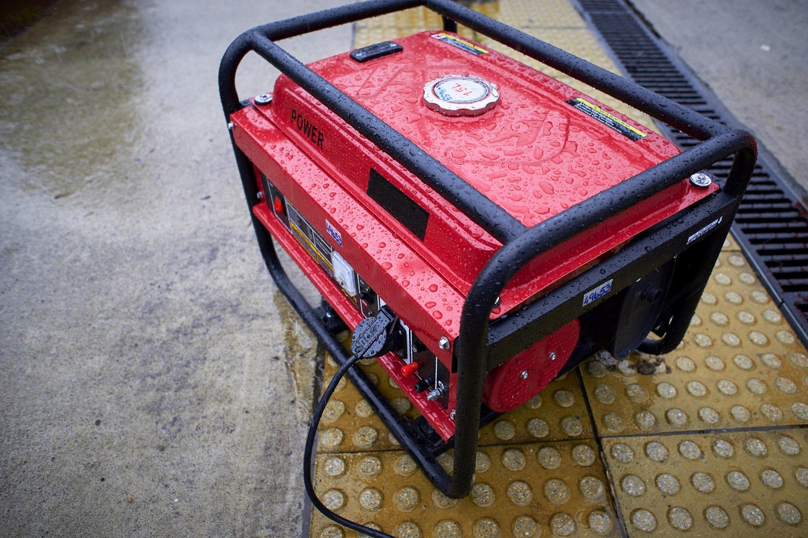 3 Phase Portable Generator